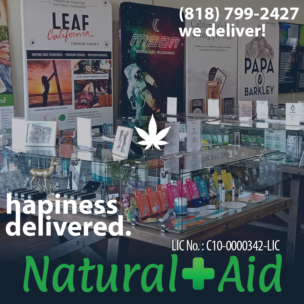 natural aid marijuana dispensary in Sunland Tujunga