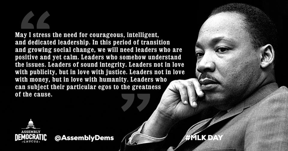 Assemblymember Luz Rivas - Honoring Dr. Martin Luther King Jr.