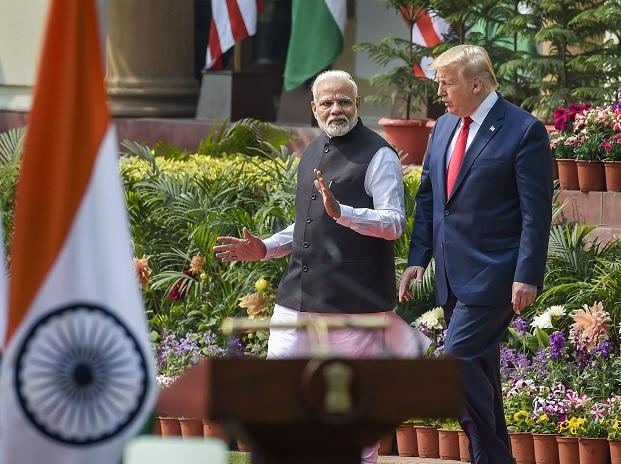 US President Donald Trump in India 2020