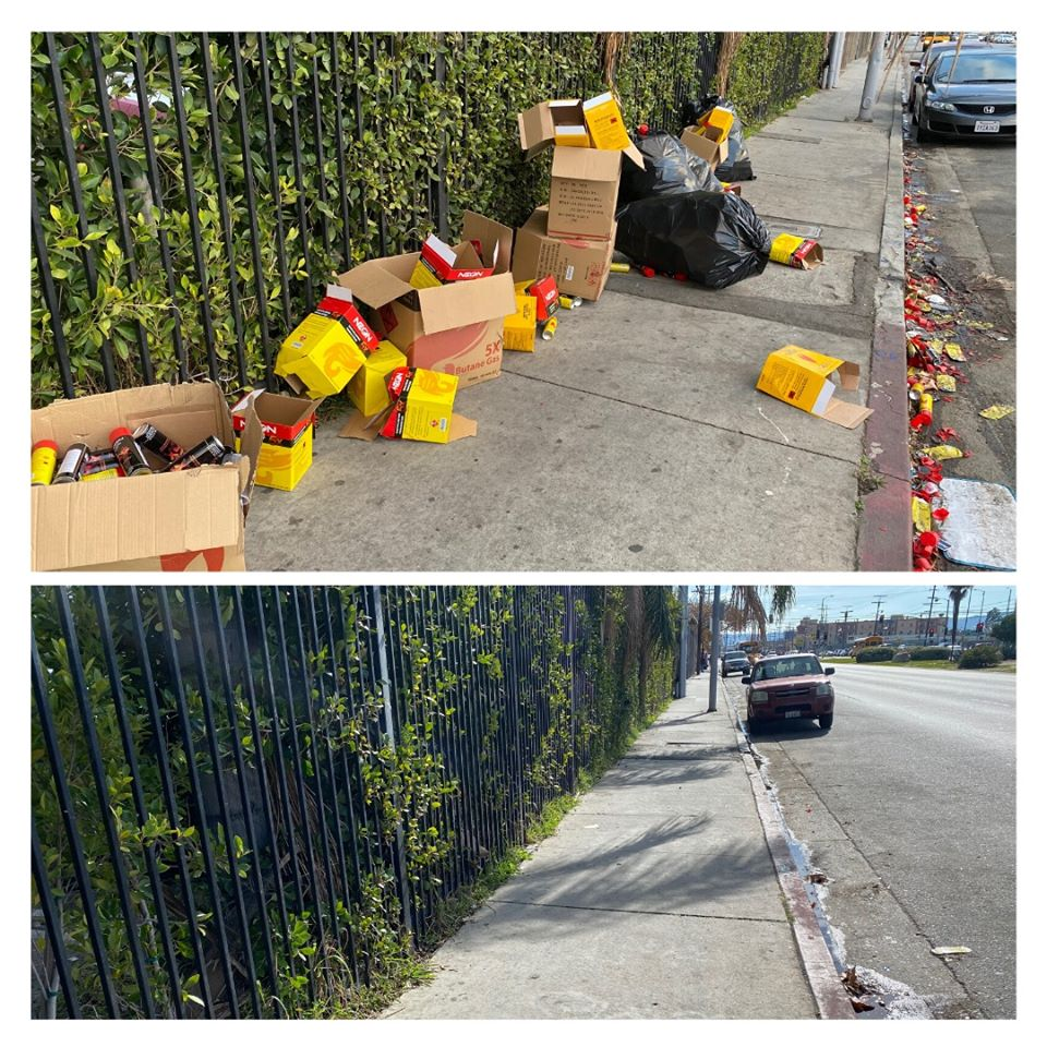 Councilwoman Monica Rodriguez - Gas Lighter Refills Dumped in North Hills