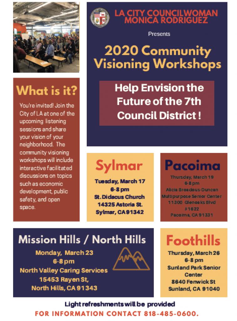 Sunland Tujunga Neighborhood Council - Community Visioning Workshops