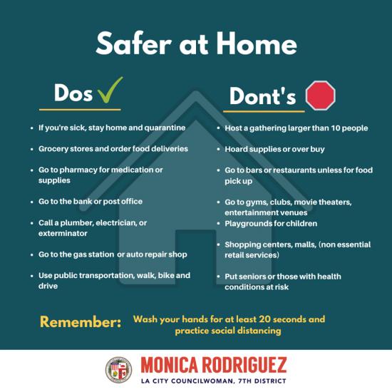 Councilwoman Monica Rodriguez - COVID-19 Updates