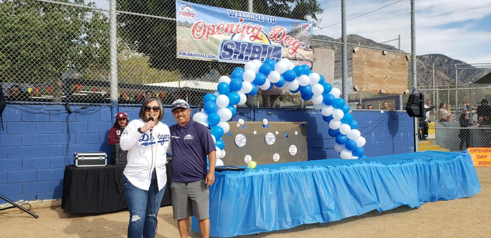 Councilwoman Monica Rodriguez - Sylmar Independent Baseball League (SIBL) on the Opening Day
