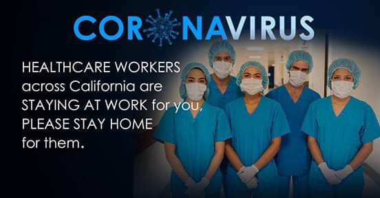 From California Assembly Democrats - Thanking All Doctors and Nurses