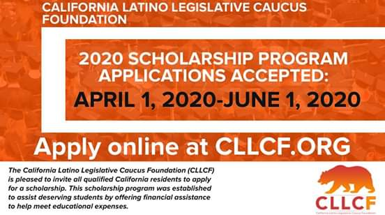 Assemblymember Luz Rivas  -The CA Latino Legislative Caucus Foundation's Scholarship Program Begins Taking Applications from April 1, 2020!