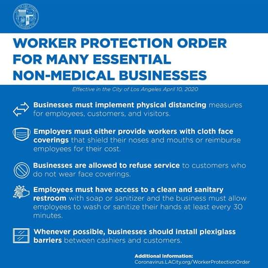 Councilwoman Monica Rodriguez - Worker Protection Order For many Essential Non-Medical Businesses