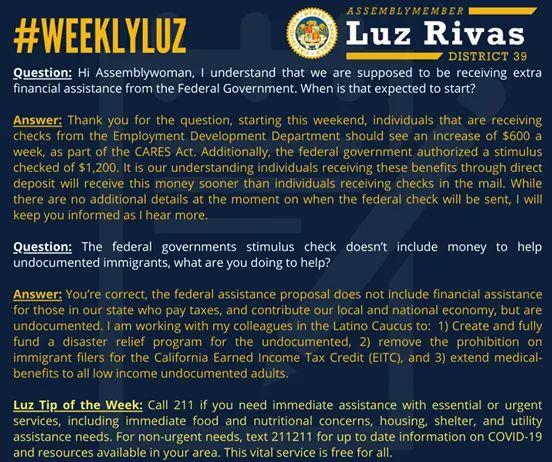 #WeeklyLuz