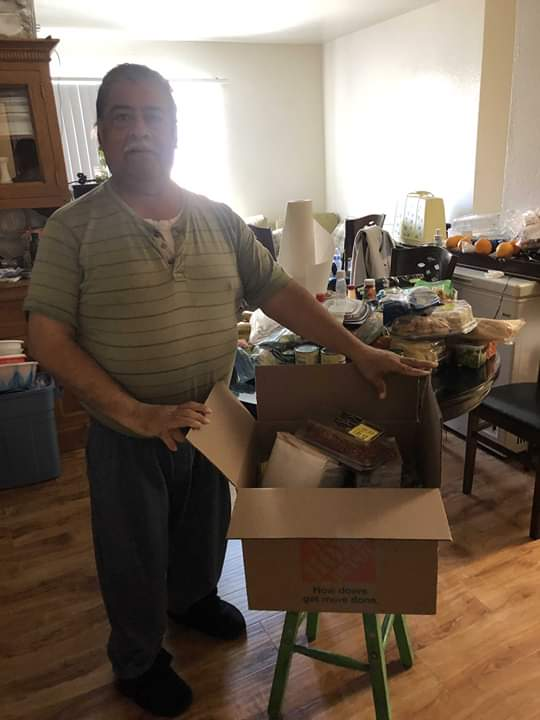 Councilwoman Monica Rodriguez Desk - Team MRod Helped Deliver Meals to our Seniors
