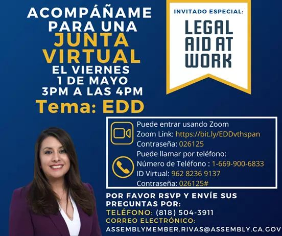 Assemblymember Luz Rivas  -  Legal Aid at Work