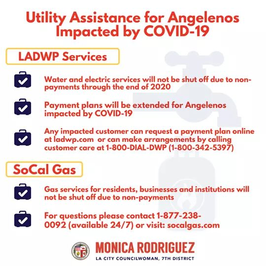 Councilwoman Monica Rodriguez - Utility Assistance for Angelenos