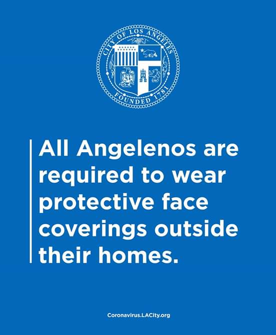 Sunland Tujunga Neighborhood Council - STNC - All Angelenos to Wear Face Coverings