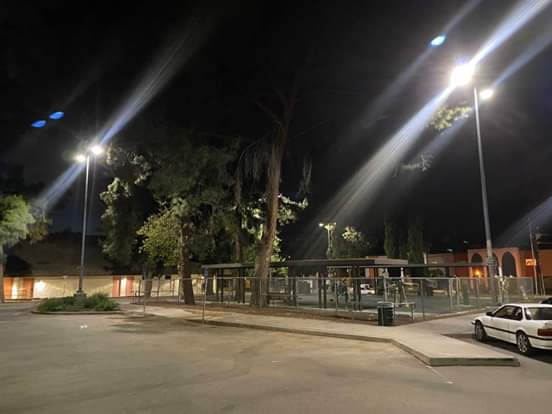 Councilwoman Monica Rodriguez  -  Completion of the Lighting Project at Sunland Park