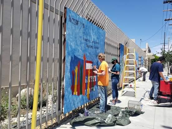Councilwoman Monica Rodriguez -  Teamed up with Local Muralists and Funded the Beatification Project along Van Nuys Boulevard