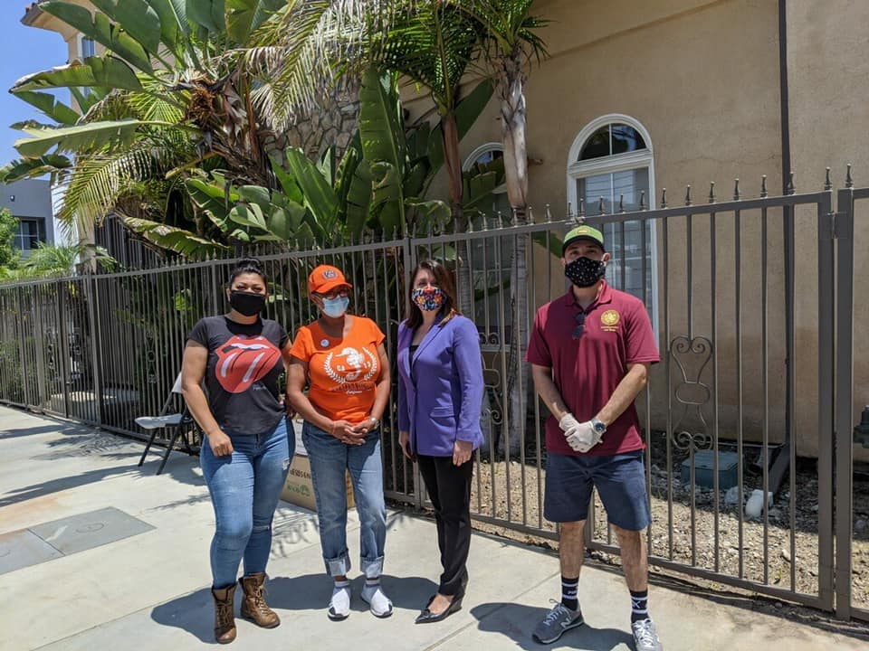 Essential Protective Gear Drive Up Distribution