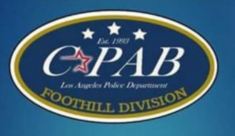 STNC - FOOTHILL STATION COMMUNITY-POLICE ADVISORY BOARD
