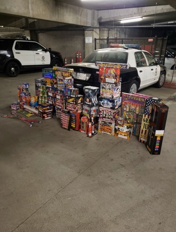 Report Illegal Fireworks
