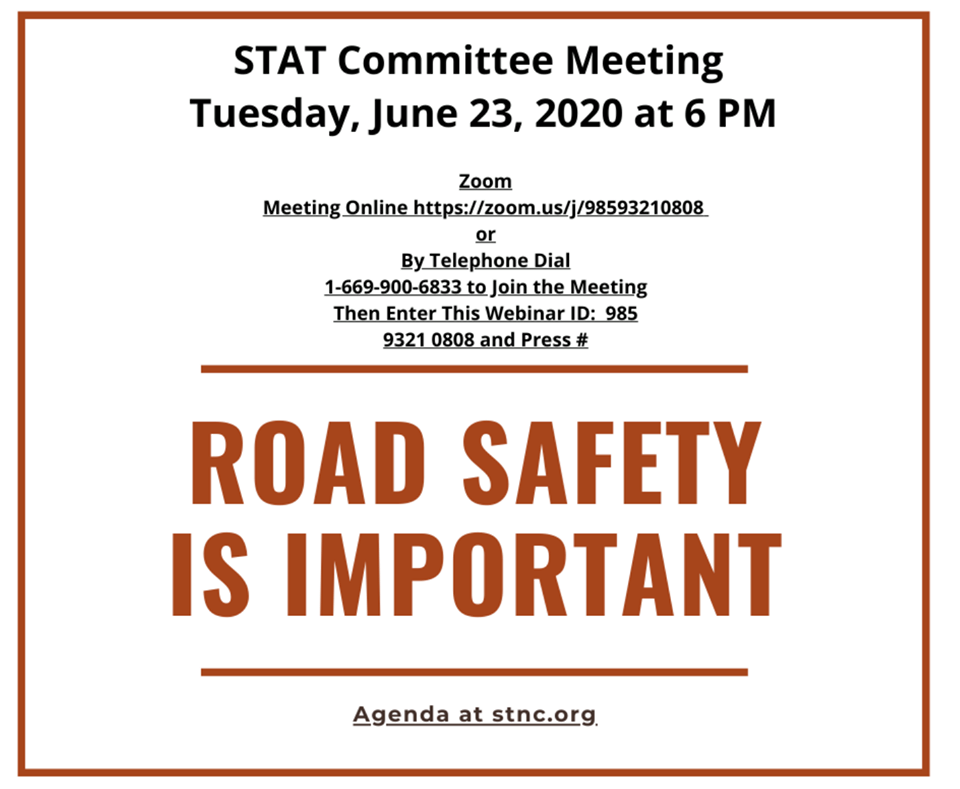 STAT – Safe Transportation & Traffic Committee Meeting