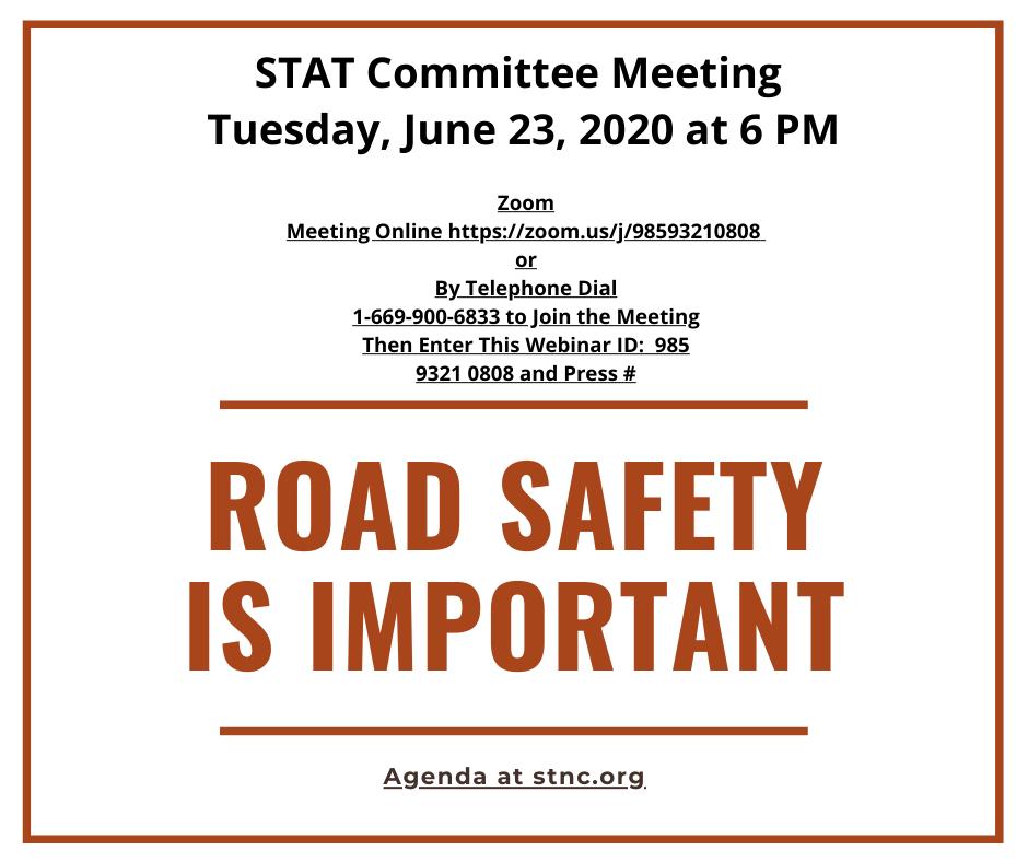 STNC - STAT Committee Meeting - June 23