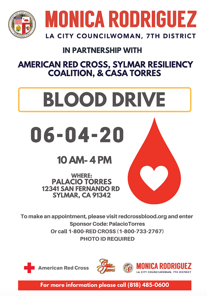Second Blood Drive Event