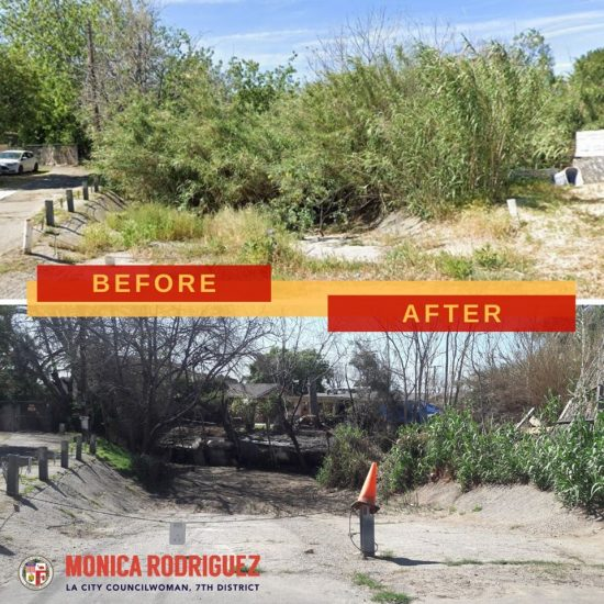 Completion of an Abatement and Cleanup Project