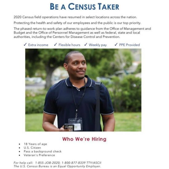 Job Opportunities with the U.S. Census