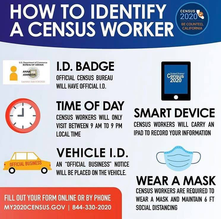 How to Identify A Census Worker
