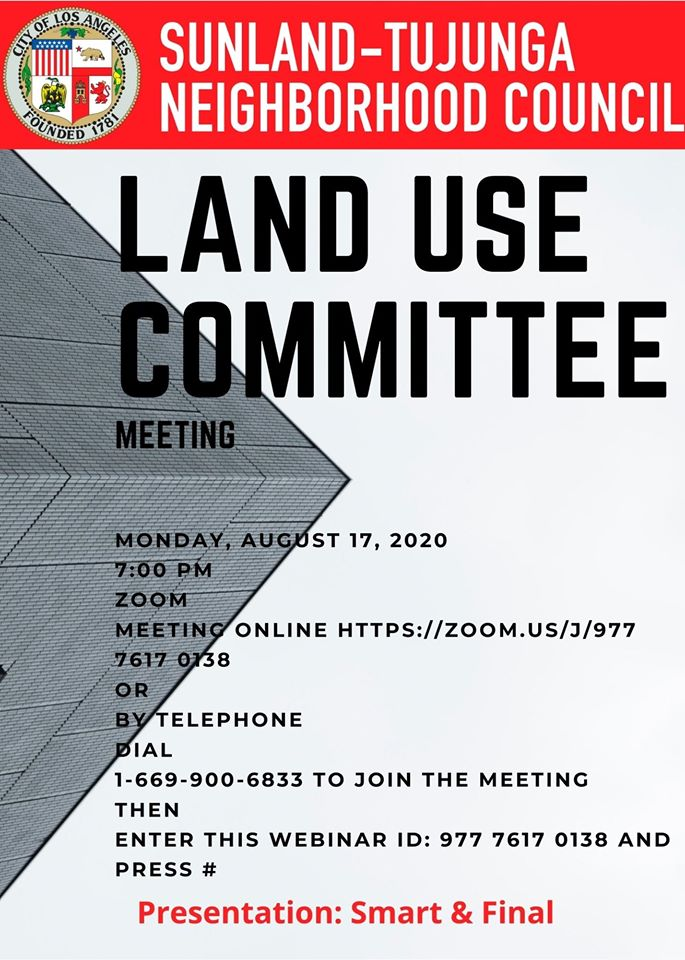Land Use Committee Meeting