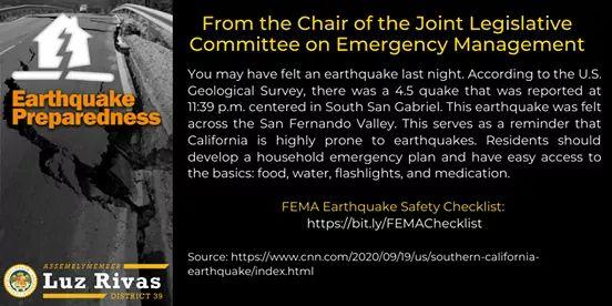 4.5 Earthquake