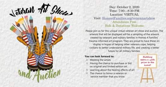 Virtual Veteran Art Show