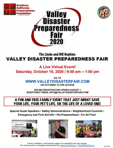 FREE Annual Valley Disaster Preparedness Fair