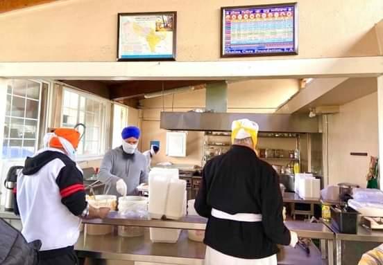 Partnership with Khalsa Care Foundation to Provide a Hot Meal Program