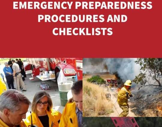 Emergency Preparedness Procedures and Checklists