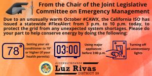Statewide #FlexAlert