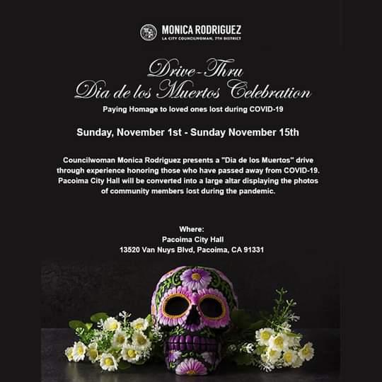 Invite You to Visit the  Dia de Los Muertos