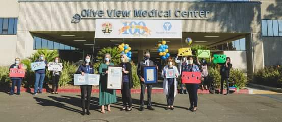 Congratulations Olive View - UCLA Medical Center on 100th Anniversary
