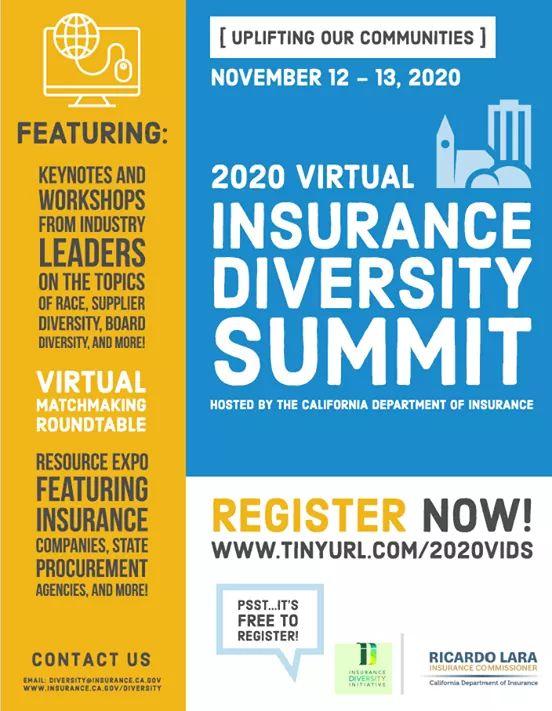 2020 Virtual Insurance Diversity Summit