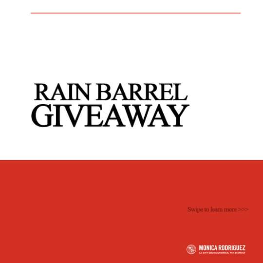 CD7 Rain Barrel Giveaway!