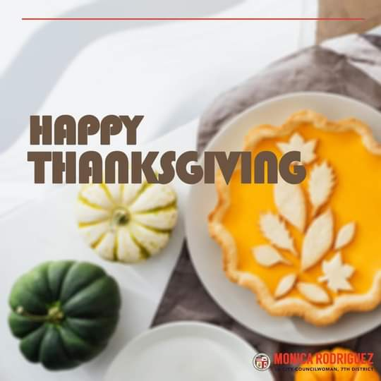 Safe and Blessed Thanksgiving