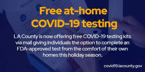 Free At-Home COVID-19 Testing