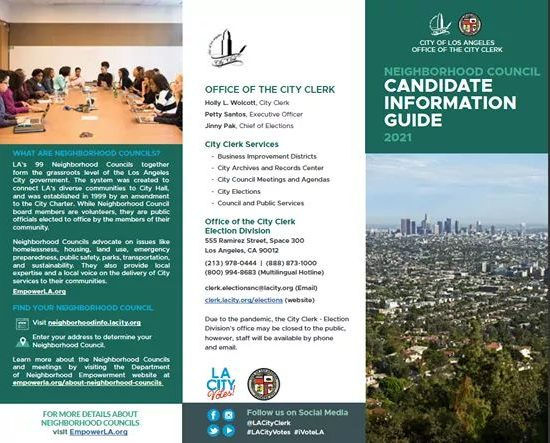 City Clerk's New Candidate Information Guide
