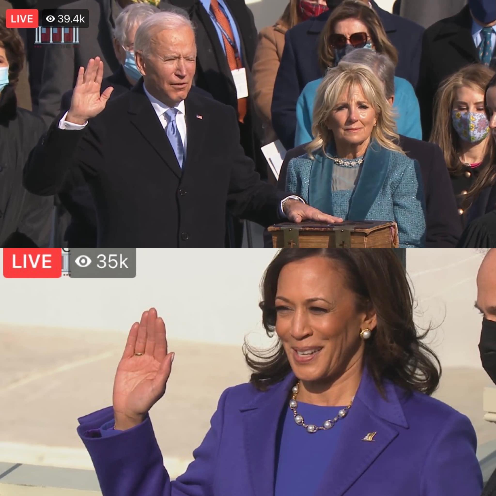 Congratulations President Joe Biden