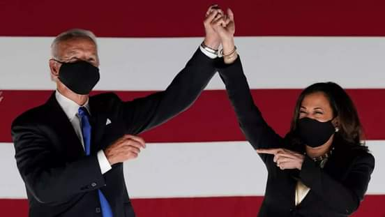 Congratulations to Our New President Joe Biden and Vice President