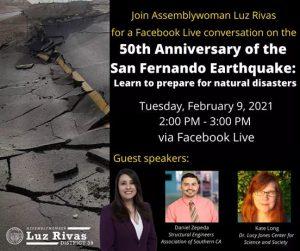 50th Anniversary of the San Fernando Earthquake