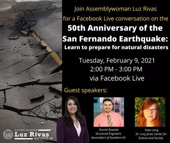 50th Anniversary of the San Fernando Earthquake