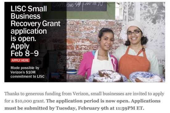 Small Businesses are Invited to Apply for a $10,000 Grant
