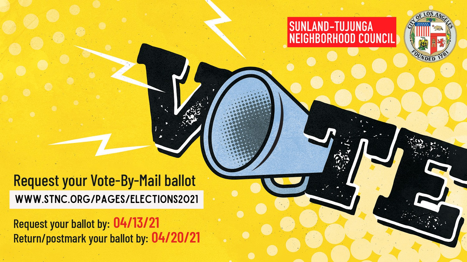 Request Your Neighborhood Council Vote-By-Mail Ballot