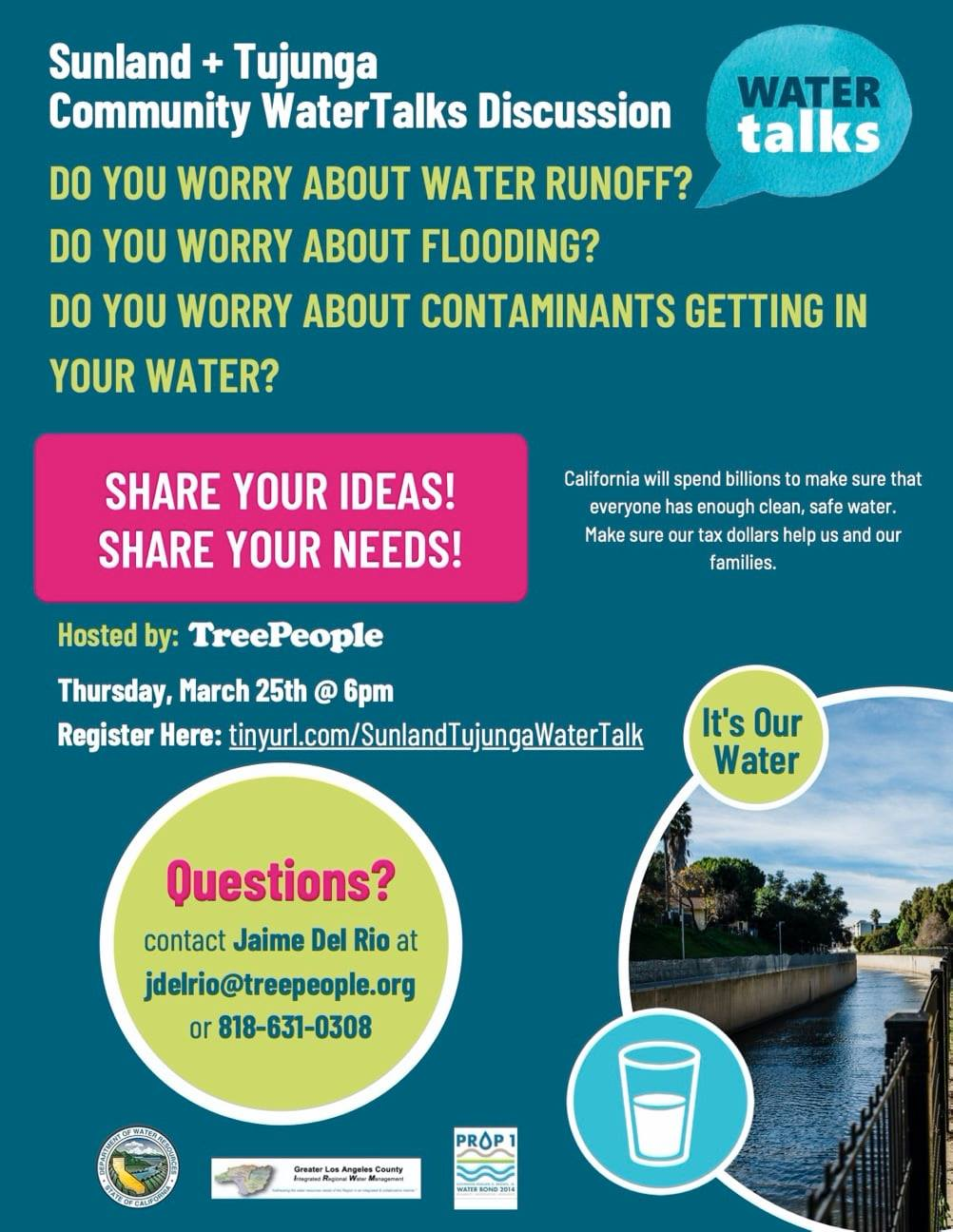 Sunland Tujunga Water Talk
