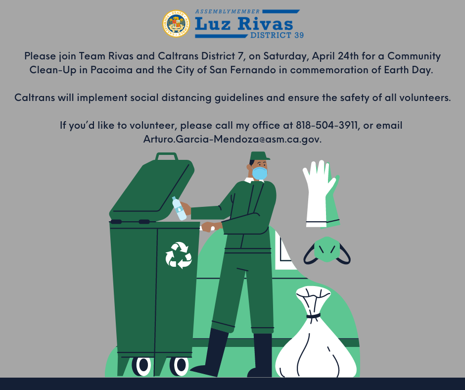 Community Clean-Up in Pacoima