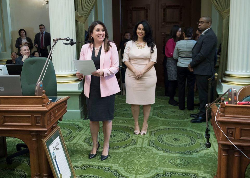 Assemblymember Luz Rivas Welcoming Nuri Martinez