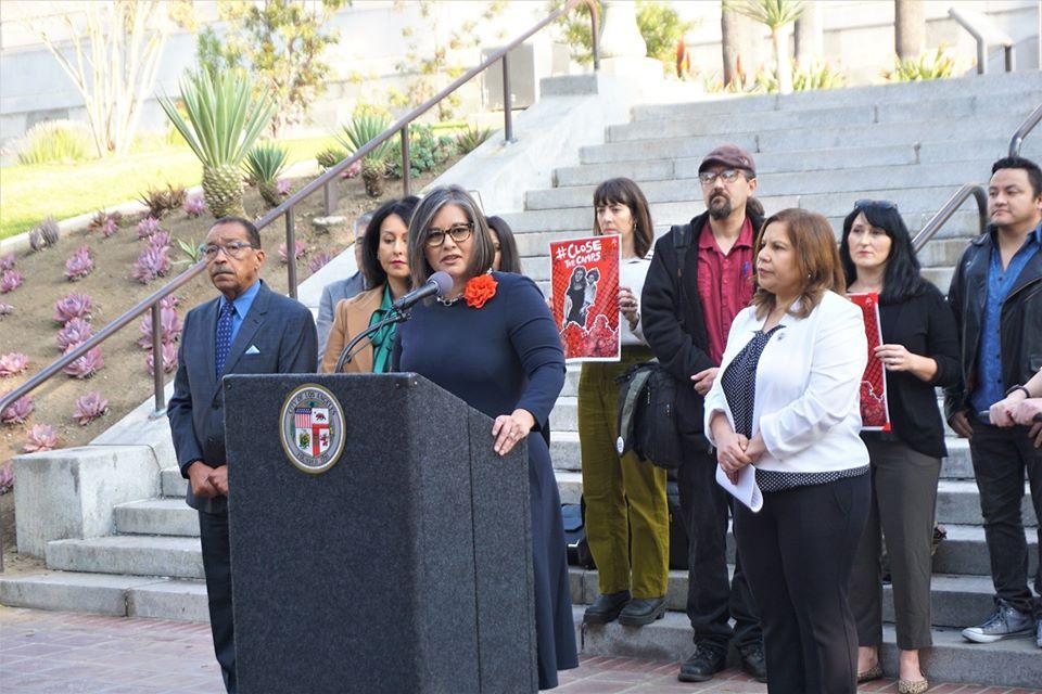 Councilwoman Monica Rodriguez - Detention Center in LA